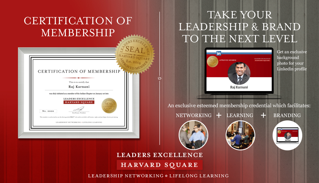 Leaders Excellence - India Chapter