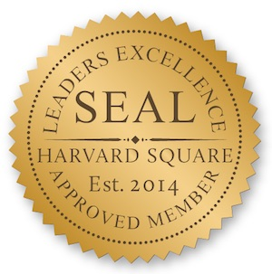 Leaders Excellence Gold Seal Pin